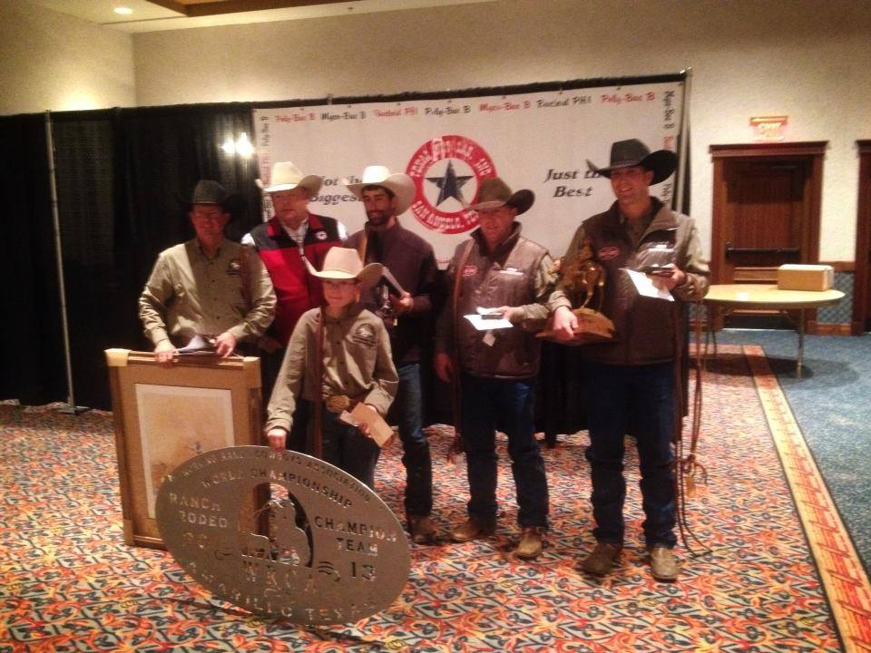 18th World Championship Ranch Rodeo Results Working