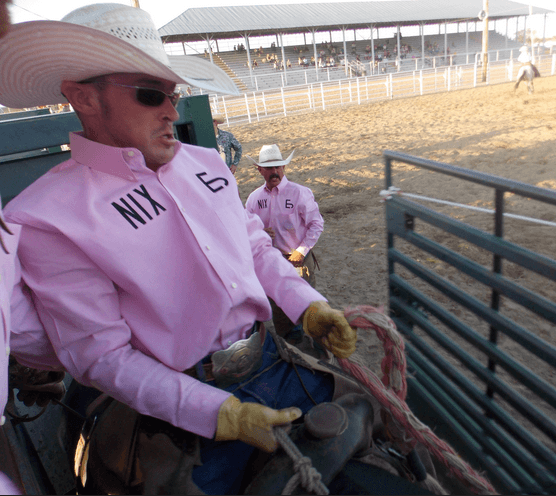 Cowboy in Pink - Punchy In Pink Night - WRCA