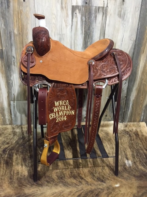 WRCA World Champion Saddle 2014