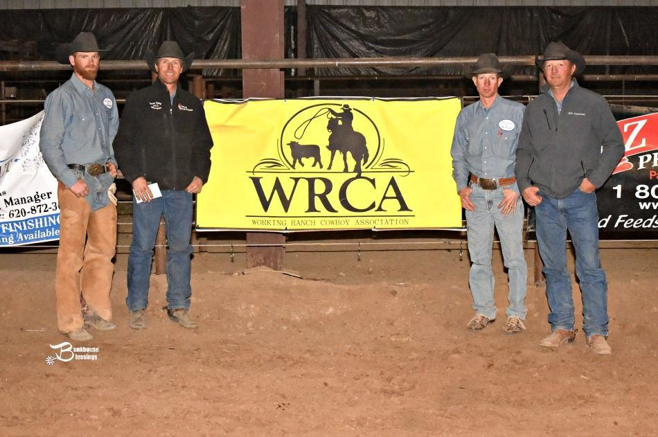 2016 Hi-Lo Country Ranch Rodeo Second Place Ranch Team – JOD Ranch & Brown Mill Ranch Cash Chamberlain, Brock Chamberlain, Candie Chamberlain, Levi Leonard, Kenny Yoder (Photo credit:  Bunkhouse Blessings/ Kay Miller)