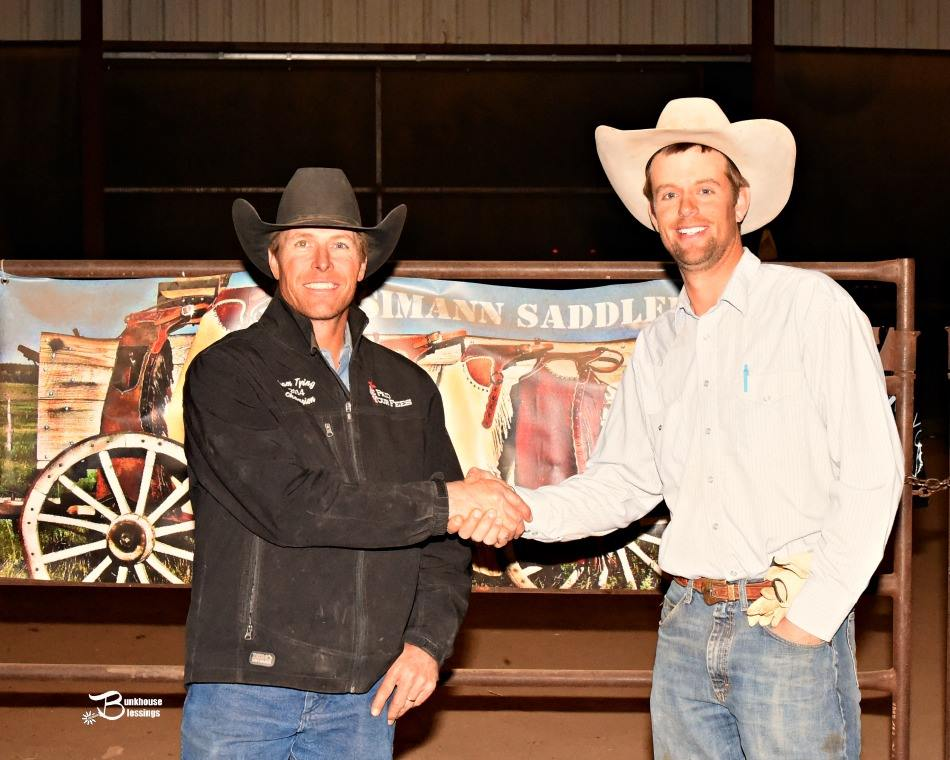 2016 Hi-Lo Country Ranch Rodeo Top Hand – Cash Chamberlain  JOD Ranch & Brown Mill Ranch (Photo credit:  Bunkhouse Blessings/ Kay Miller)