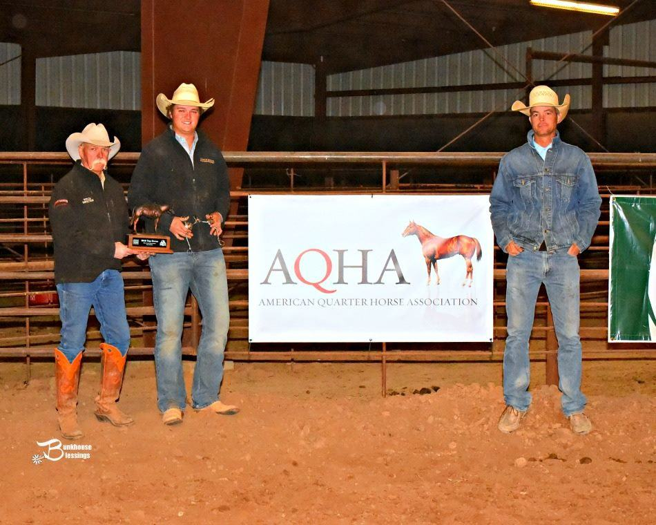2016 Hi-Lo Country Ranch Rodeo Top Horse – Ridden by Jacob Gudgell Singleton Ranches (Photo credit:  Bunkhouse Blessings/ Kay Miller)