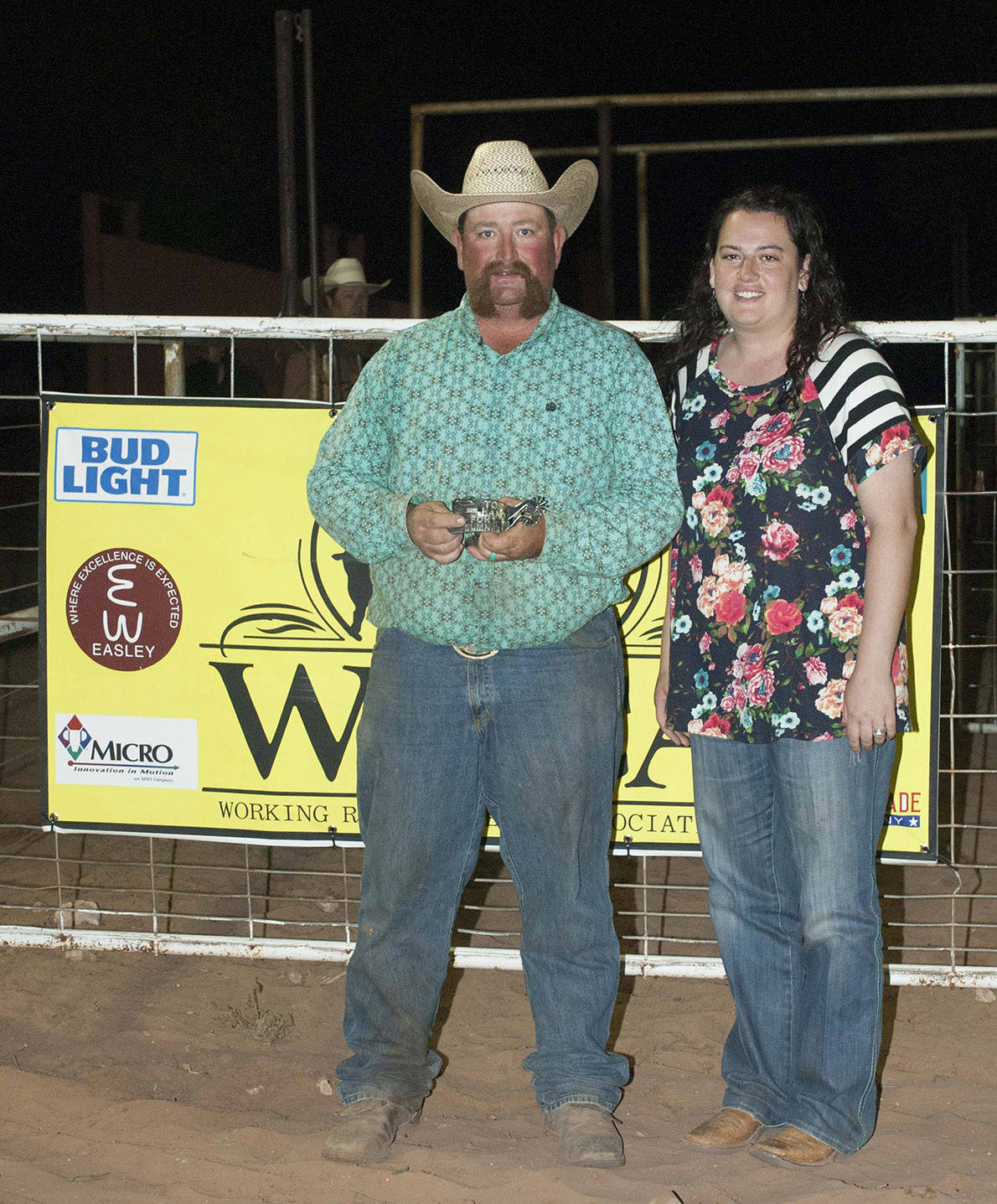 2016 Fort Sumner Ranch Rodeo Top  Hand - Casey Pope