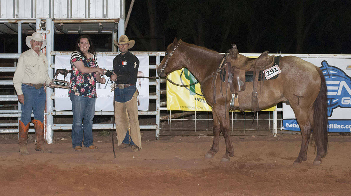 2016 Fort Sumner Ranch Rodeo Top Horse - Ridden by TJ Roberts