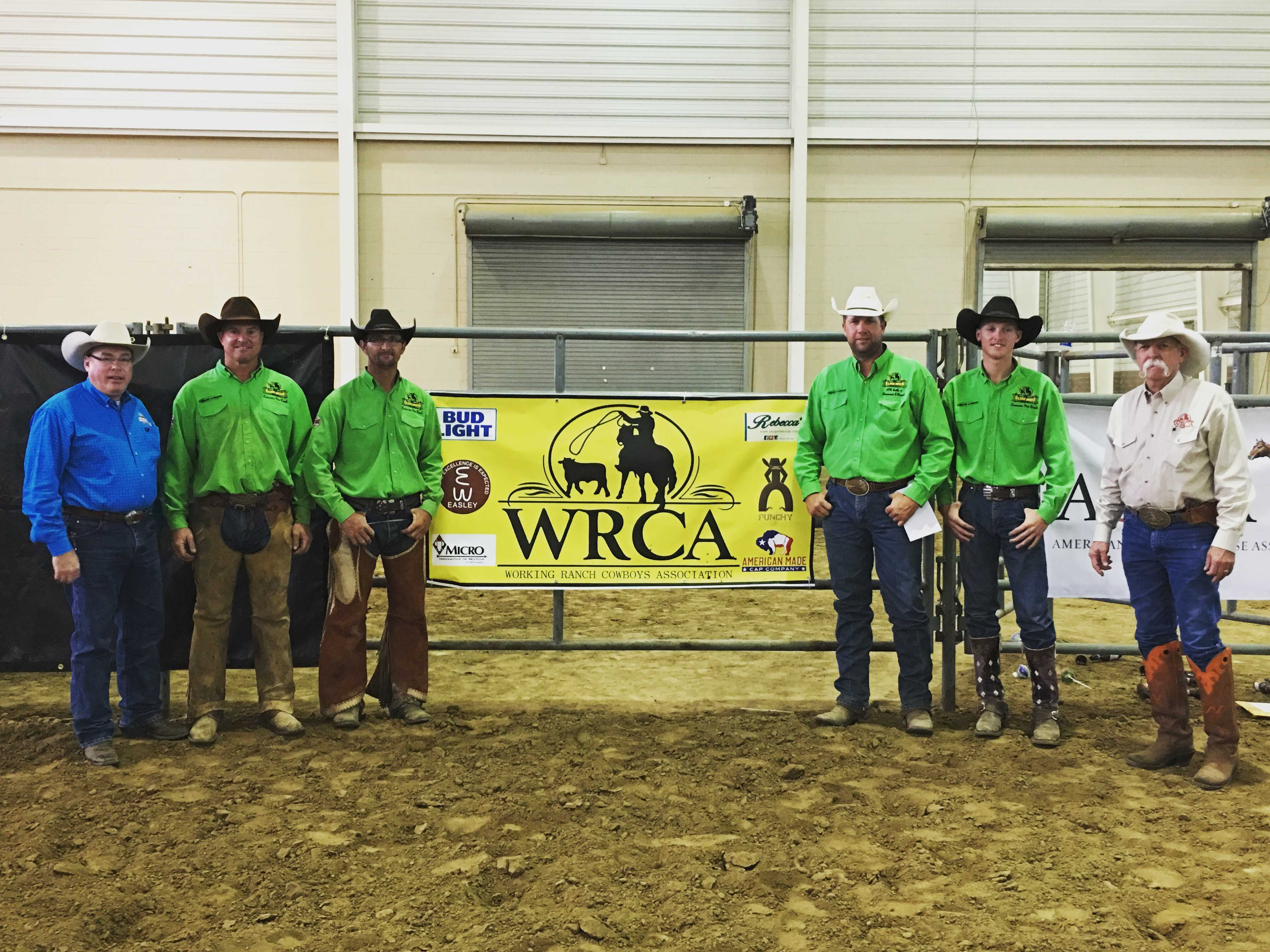 2016 Rockn Western Rendezvous Winning Ranch Team - Lonesome Pine Ranch