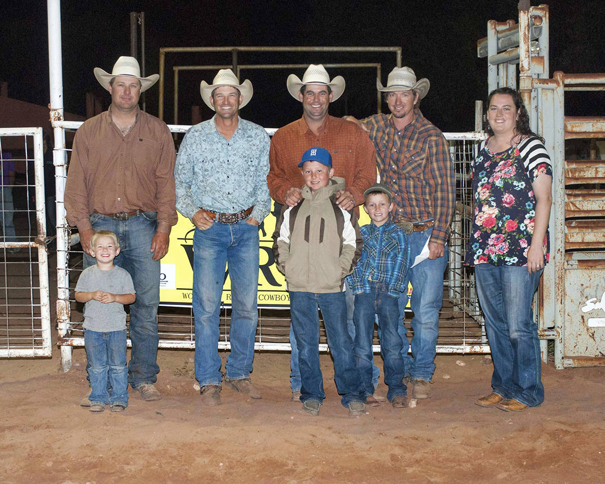 2016 Fort Sumner Ranch Rodeo Winning Ranch Team – Smith Ranch