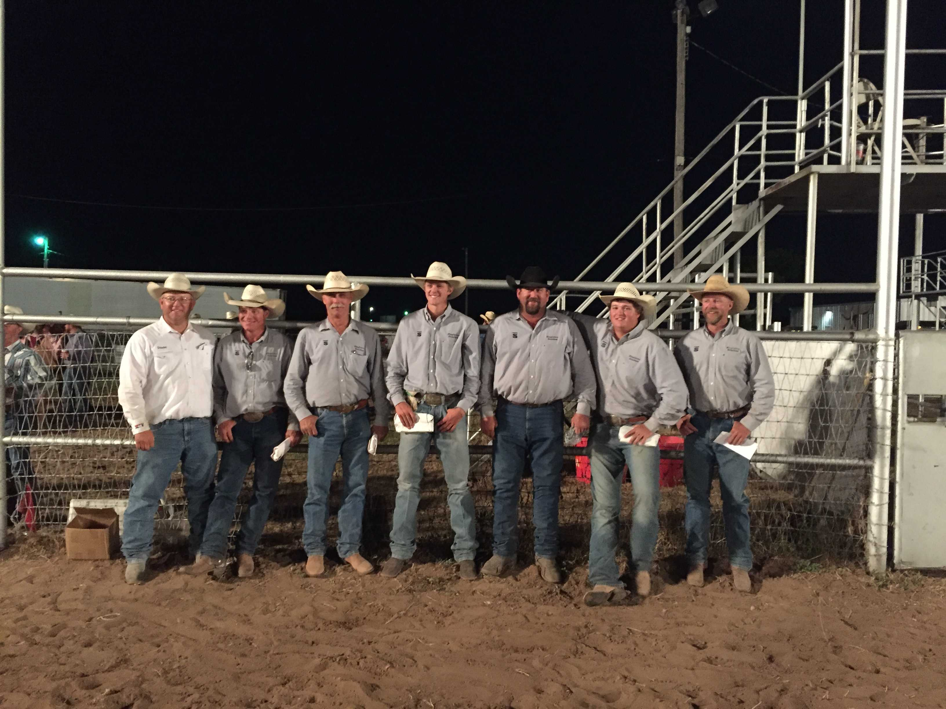 2016 Xit Ranch Rodeo Results Working Ranch Cowboys