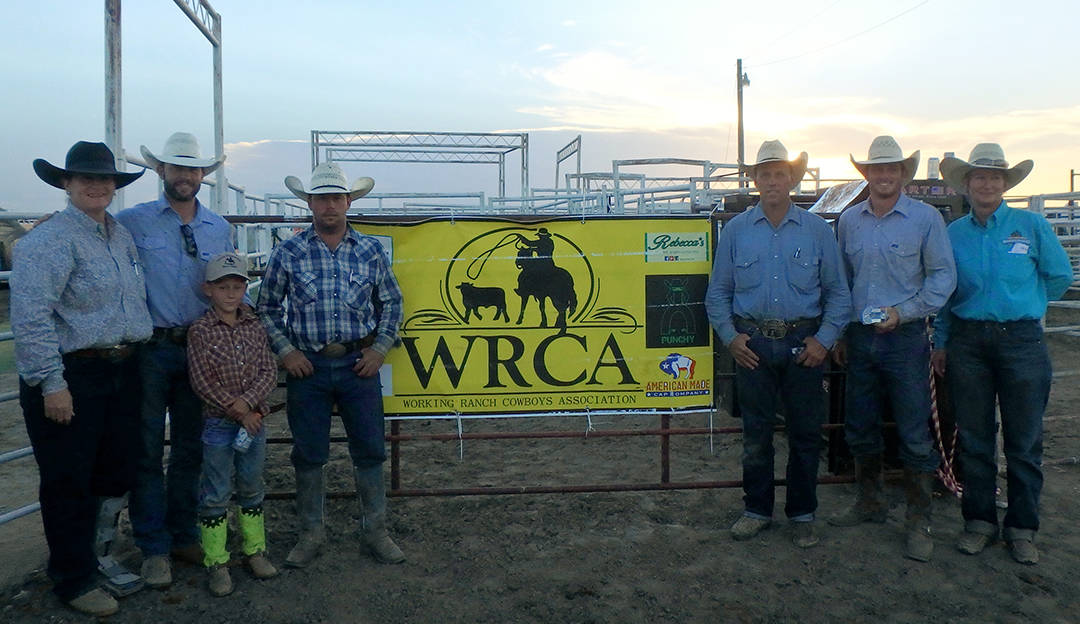 2016 Meade County Fair Ranch Rodeo Winning Ranch Team - Snyder Ranch & Woolfolk Ranch