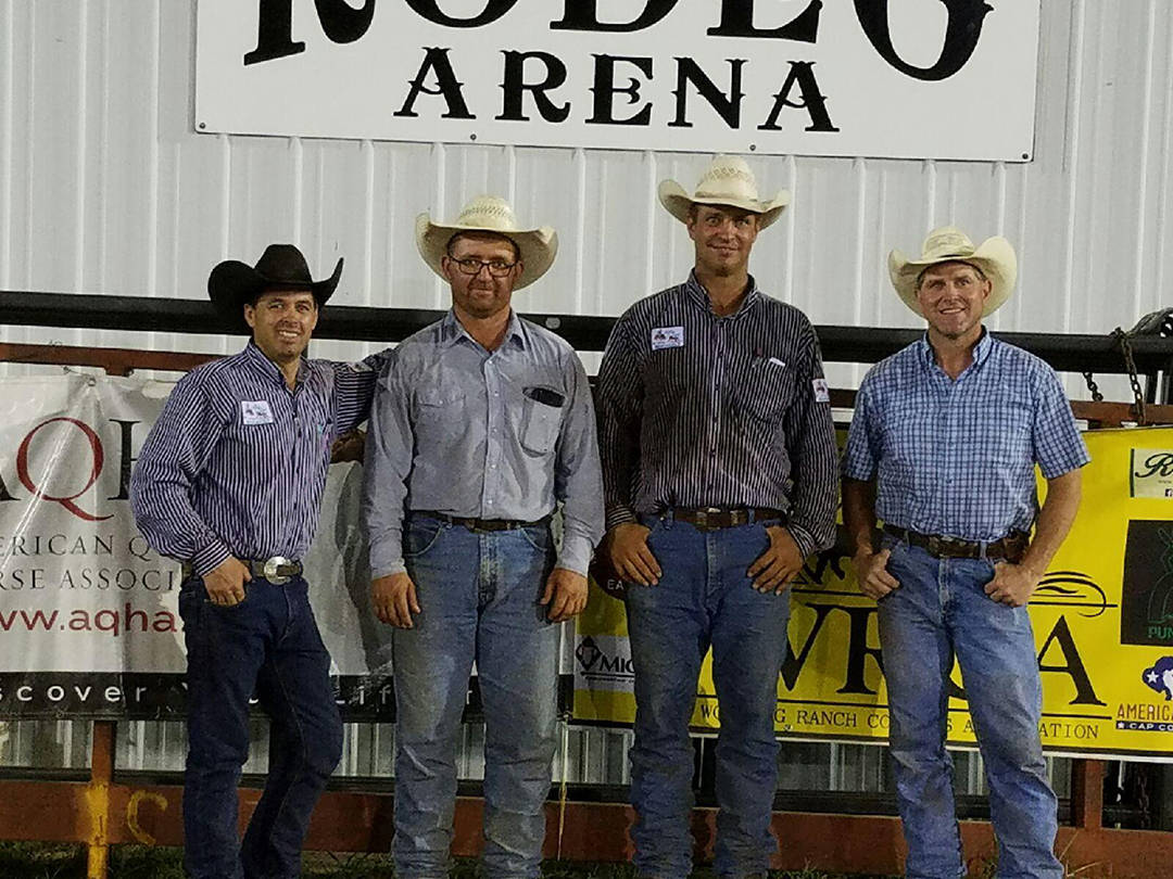 2016 Santa Fe Trail Ranch Rodeo 2nd Place Ranch Team Team - Arndt Ranch & Bailey Ranch (Qualified)