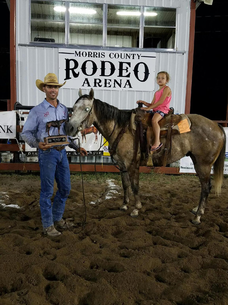 2016 Santa Fe Trail Ranch Rodeo Top Horse - Ridden/Owned by Adrian Vogel