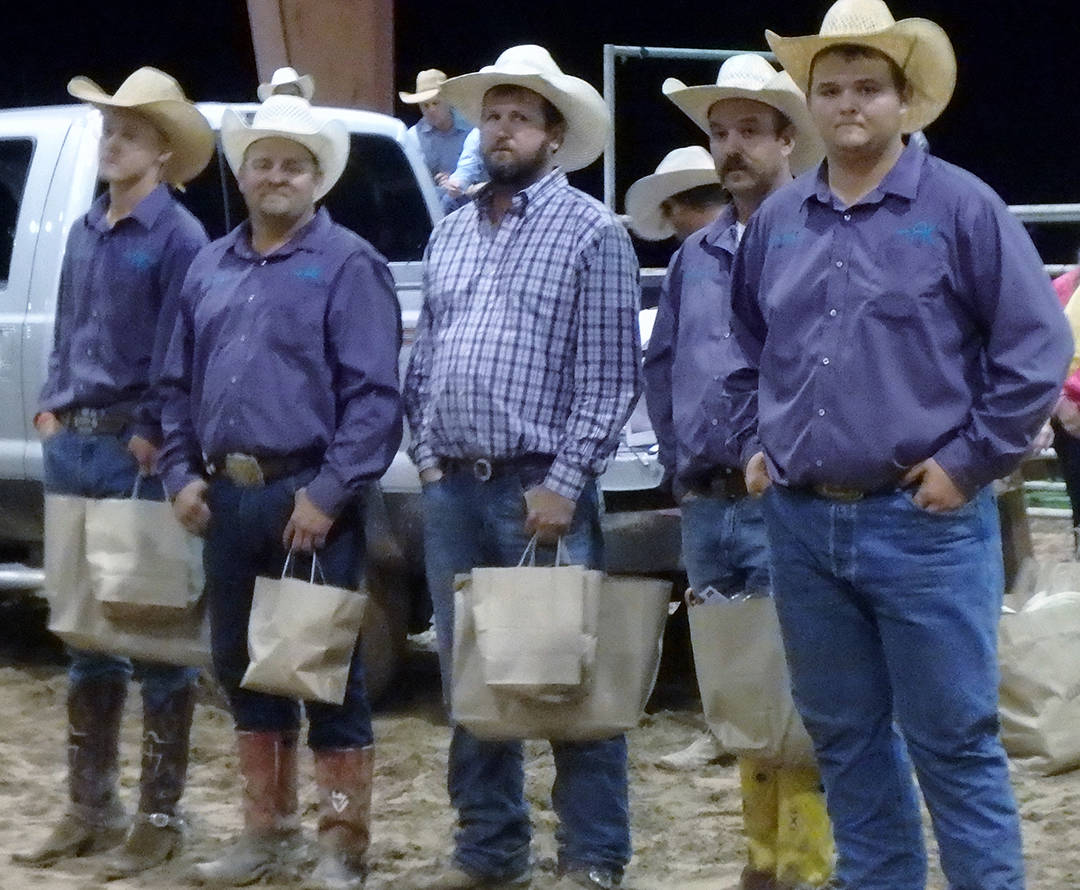 2016 Big Bend of Texas Second Place Ranch Team – Palo Duro Cattle & Smith Cattle