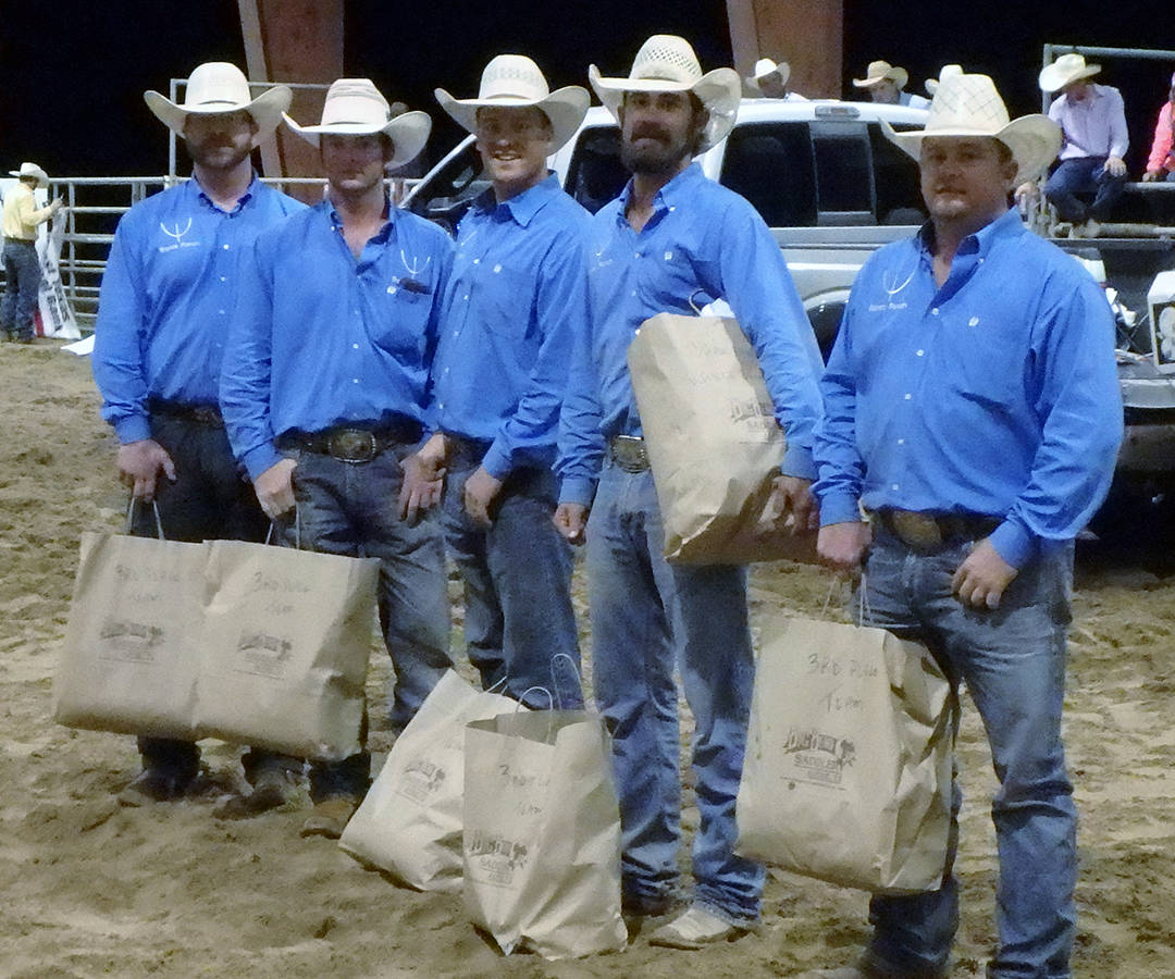 2016 Big Bend of Texas Third Place Ranch Team – Bonds Ranch