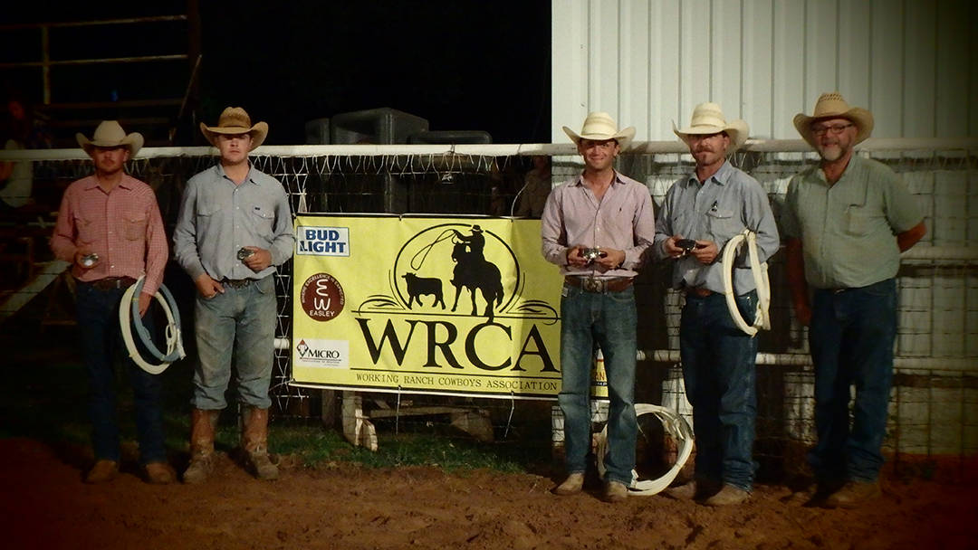 2016 Old Settler's Reunion Ranch Rodeo Winning Ranch Team - Crossroads Ranch