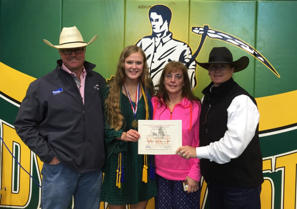 Reata Collins Receives WRCA Foundation Scholarship