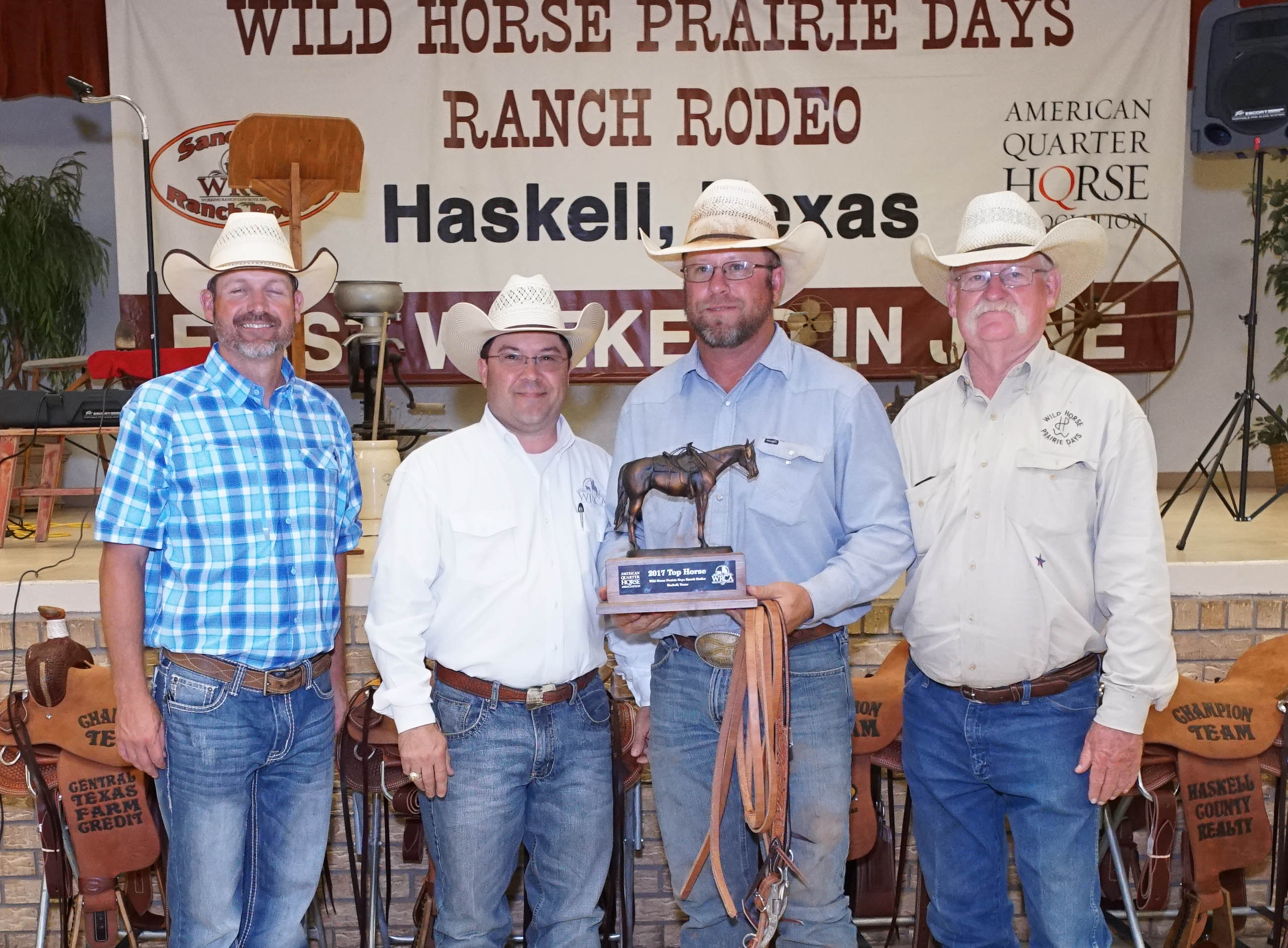 2017 Wild Horse Prairie Days Official Results Top Horse Winner