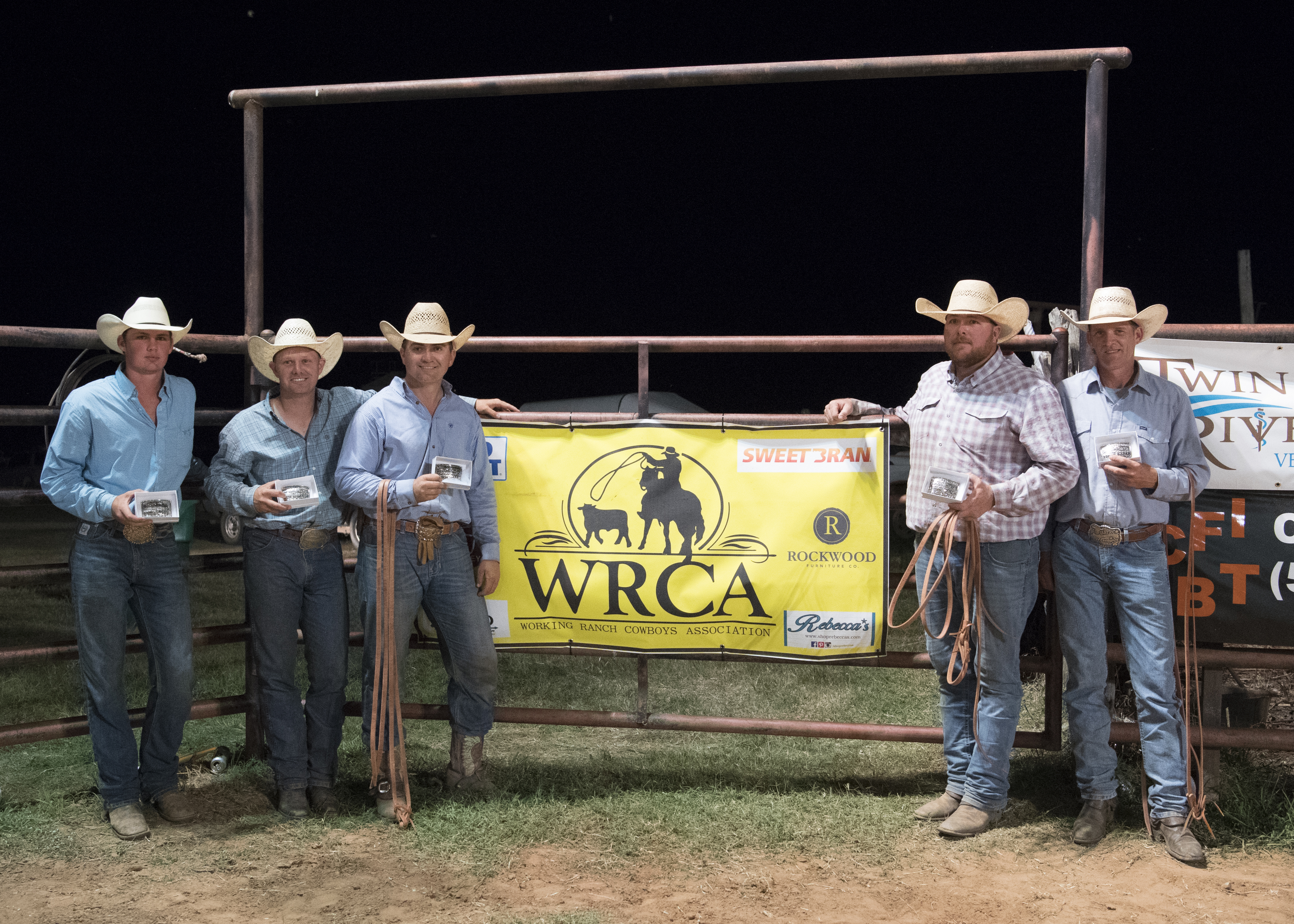 2017 Waurika Chamber of Commerce Ranch Rodeo Champion Ranch Team Diamond H Plus C