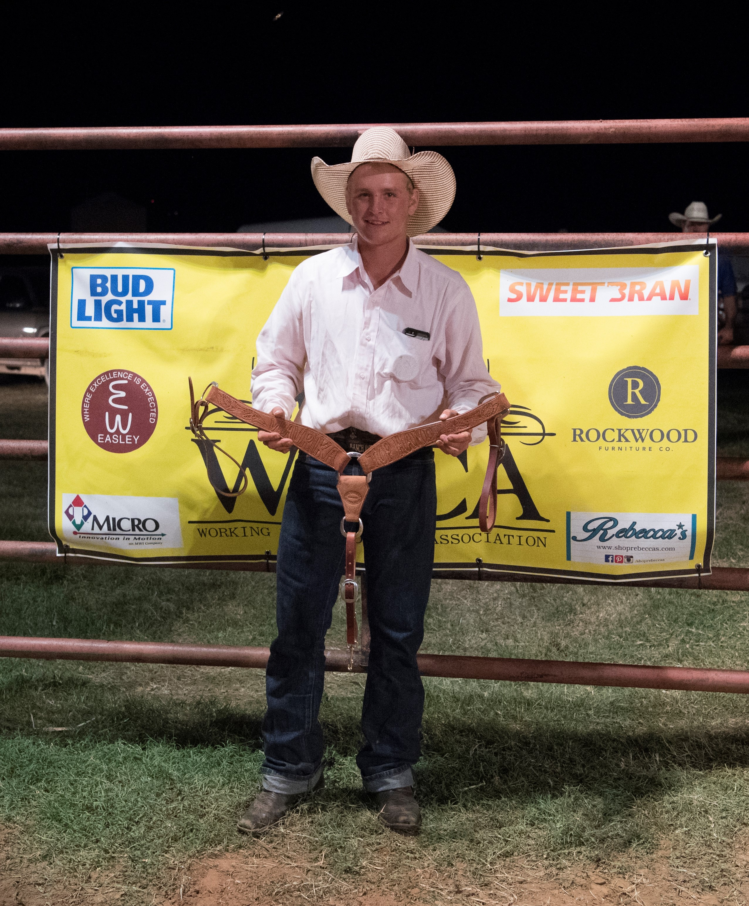 2017 Waurika Chamber of Commerce Ranch Rodeo Top Hand John Crowder Beebe Livestock / McCoy Ranch