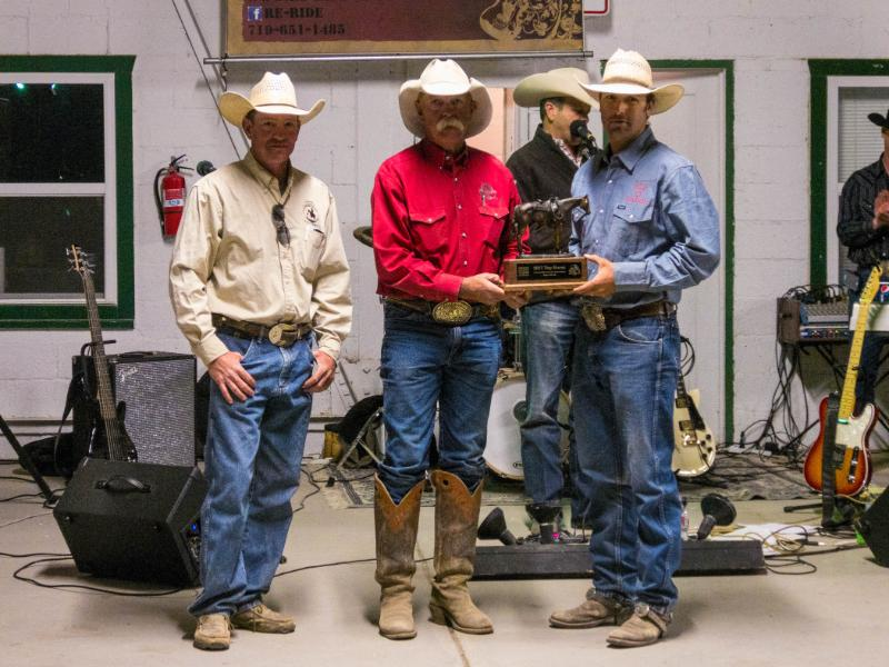2017 Colorado Championship Ranch Rodeo Top Horse CadesCat, Ridden By: Jeremy Knoles, Hip O Ranch / Barta Cattle, Owned By: Lisa Marie Nelson - Arnold, NE