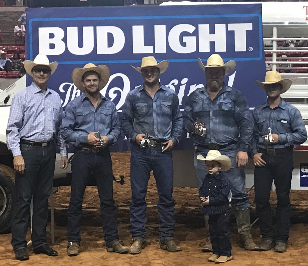 Second Place Team, Burns Ranch - 2017 Texas Ranch Roundup