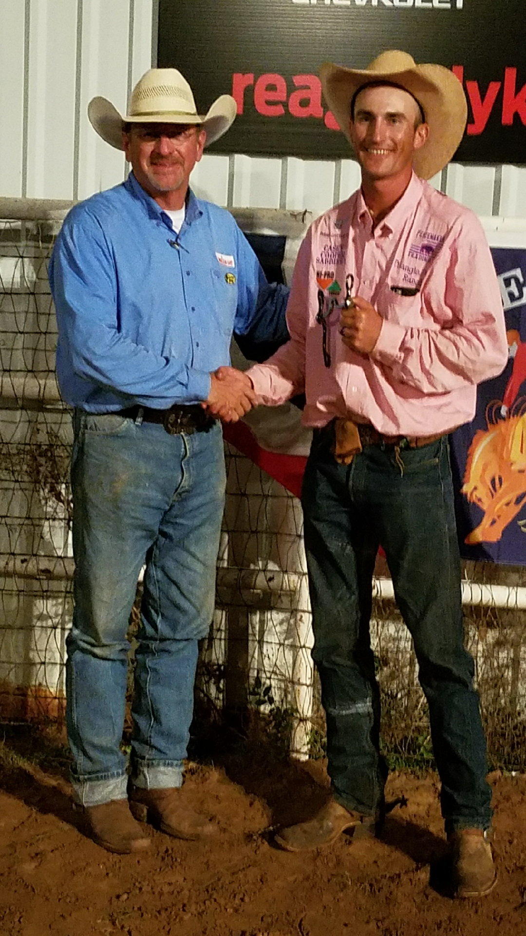 2017 Old Settler's Reunion Ranch Rodeo Honorary Top Hand Kye Fuston, Triangle Ranch / Veale Ranch