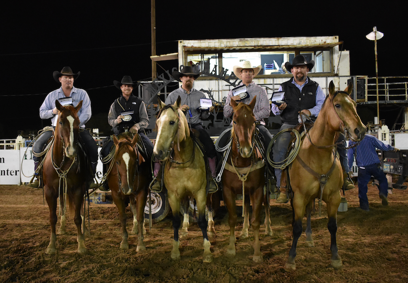 New Mexico Championship Ranch Rodeo Average Champions