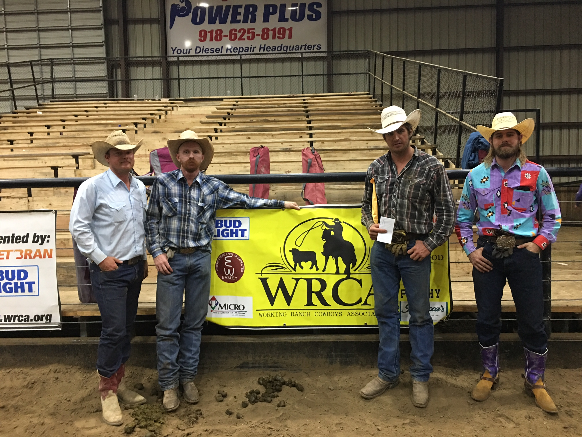 2017 Pryor Creek Benefit Ranch Rodeo Champion Team
