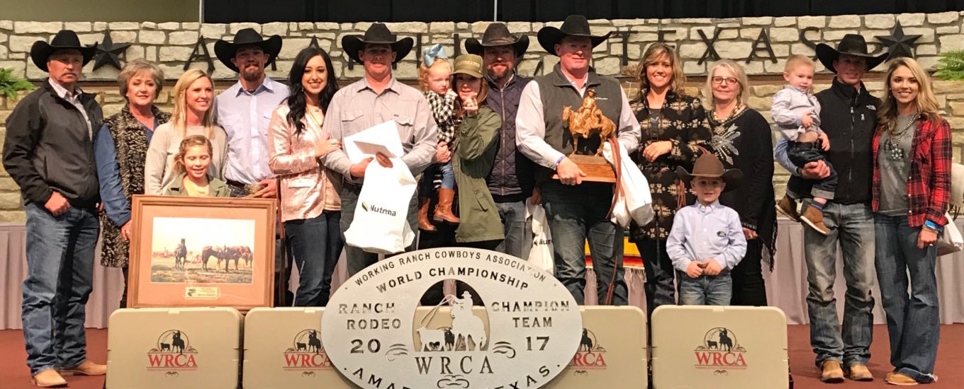 2017 World Champion Team: Wilson Cattle and Haystack Cattle Co.