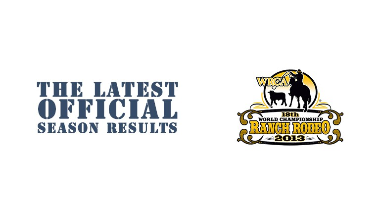 2013 Kansas Championship Ranch Rodeo Official Results