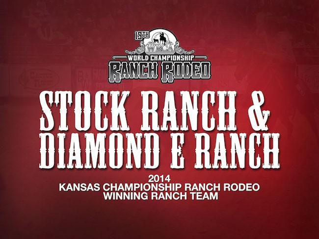 2014 Kansas Championship Ranch Rodeo Working Ranch