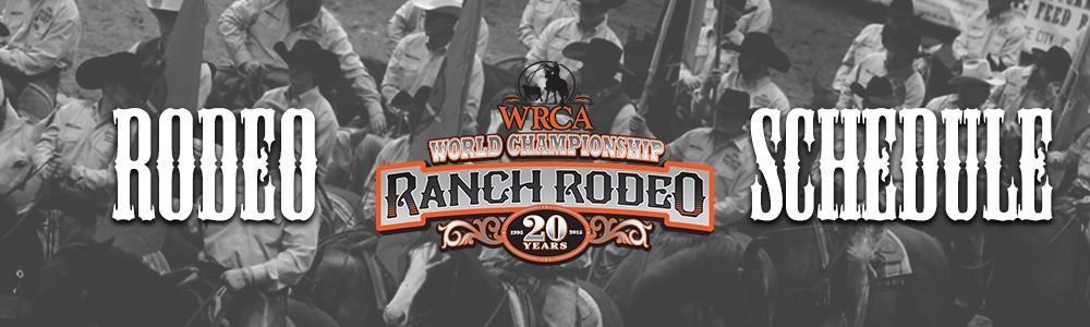 2015 Rodeo schedule - WRCA