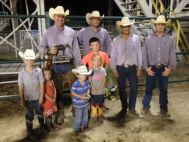2015 Coffeyville Interstate Fair And Ranch Rodeo Results