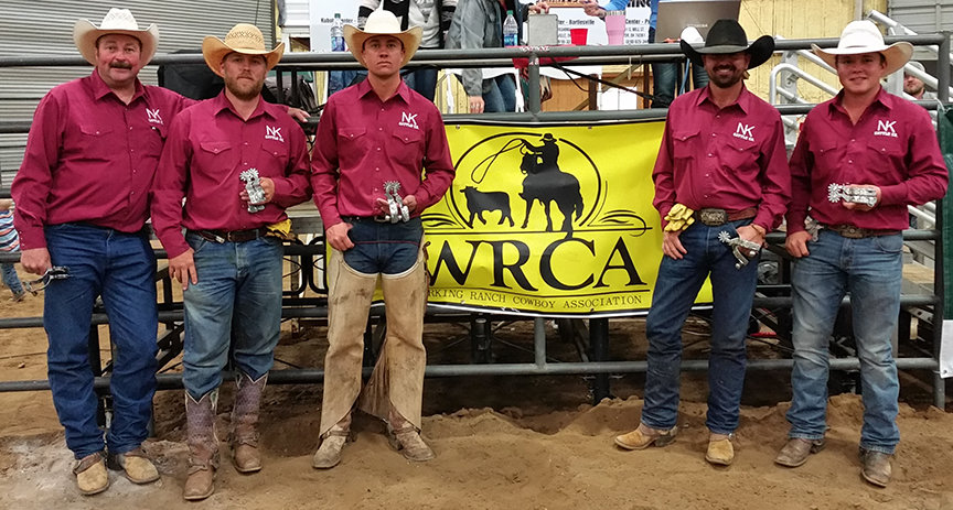 2016 Green Country Classic Ranch Rodeo Results Working