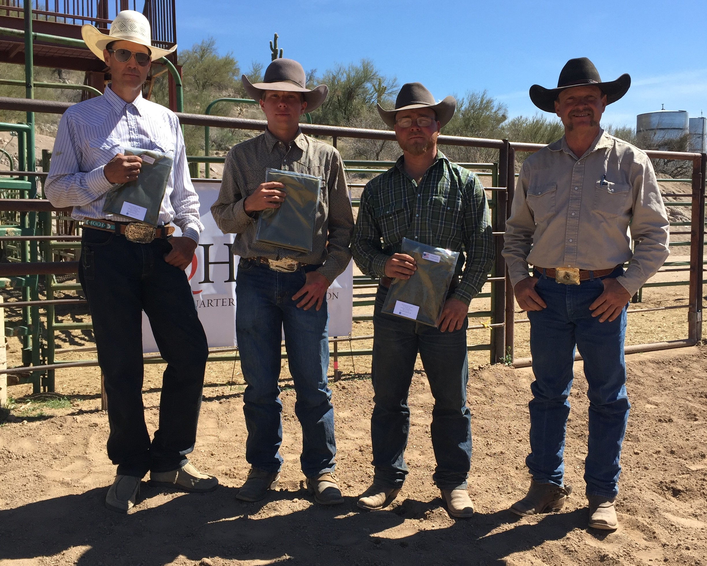 2018 Lowell Goemmer Memorial Ranch Rodeo Results Working