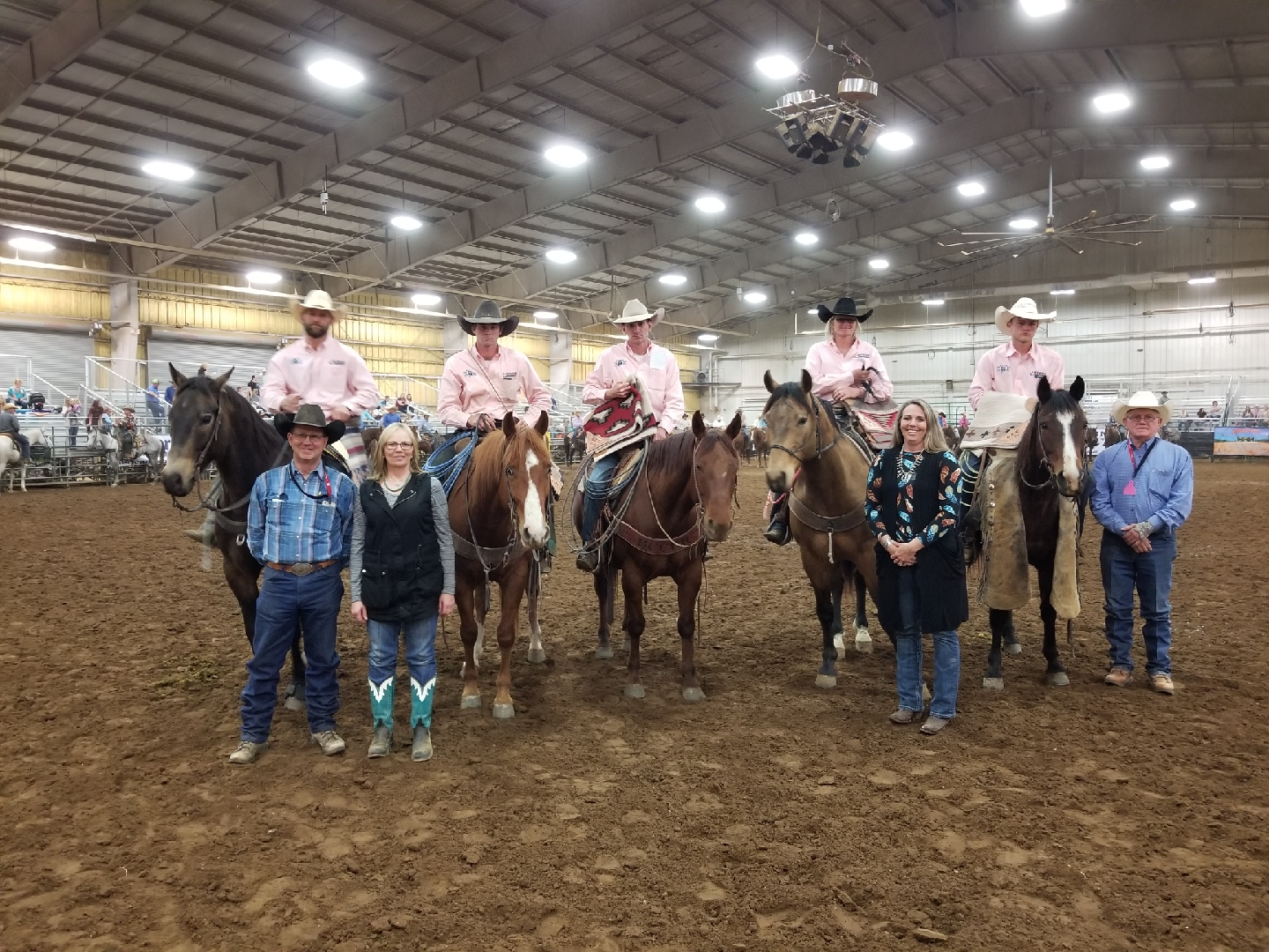 2018 Green Country Classic Ranch Rodeo Results Working