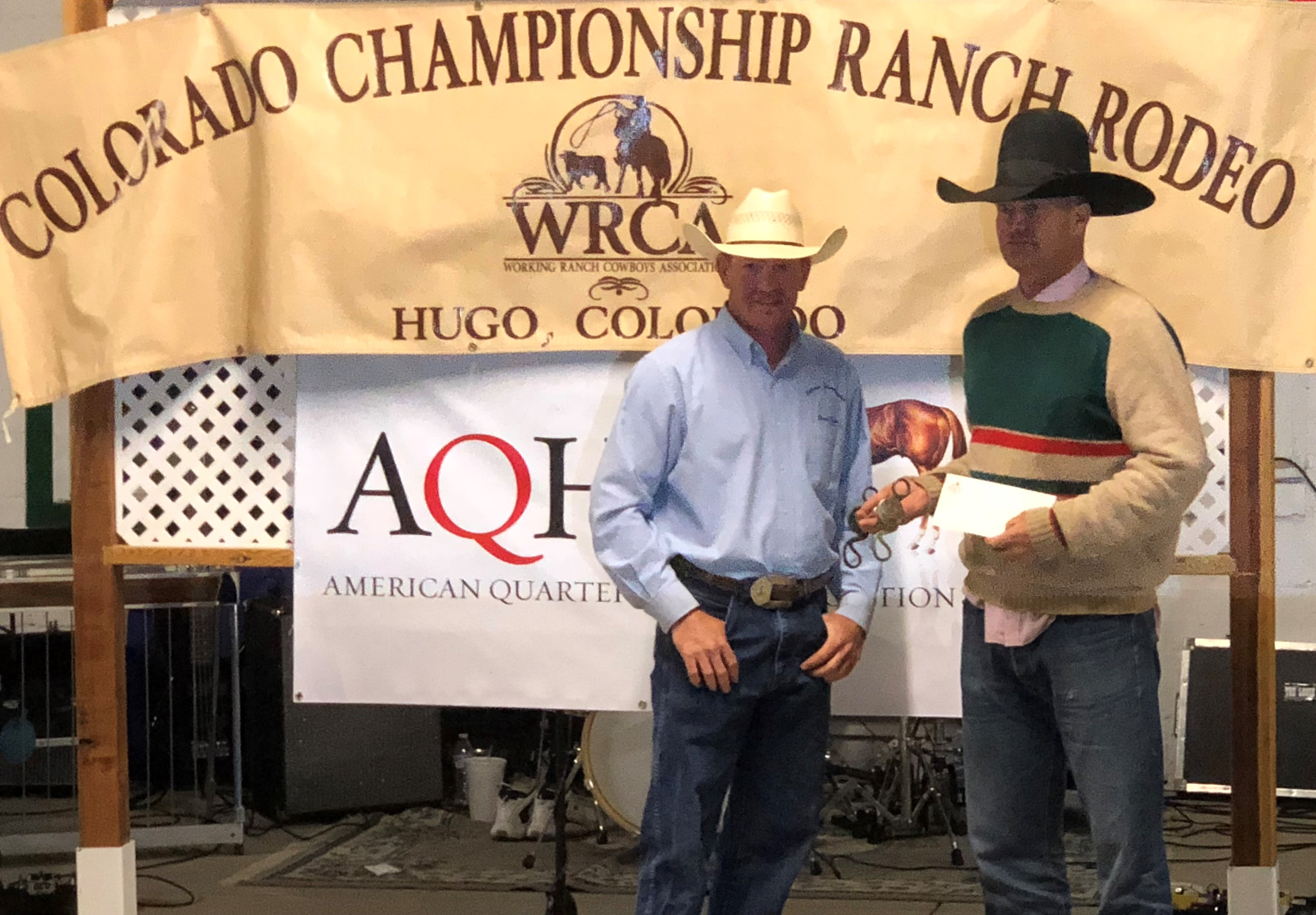 2018 Colorado Championship Ranch Rodeo Results Working