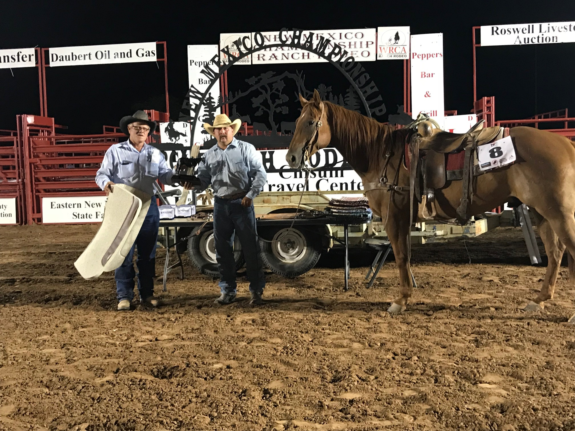 2018 New Mexico Championship Ranch Rodeo Results Working
